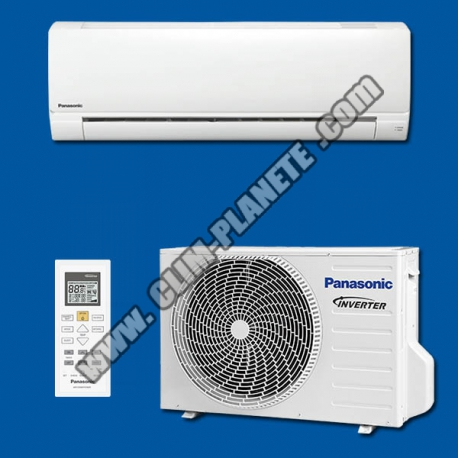 climatisation r versible inverter mono split kit cs pz25tke panasonic. Black Bedroom Furniture Sets. Home Design Ideas