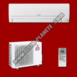 Climatisation Mono Split Réversible Inverter MSZ-HR25VF / MUZ-HR25VF MITSUBISHI ELECTRIC